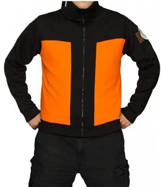 Naruto Uzumaki Japanese Warrior Track Jacket