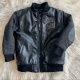 Pelle Pelle Boys 3T 50's Style Varsity Leather Jacket