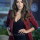 Sarah Shahi TV Series Sex Life 2021 Maroon Wool Blazer