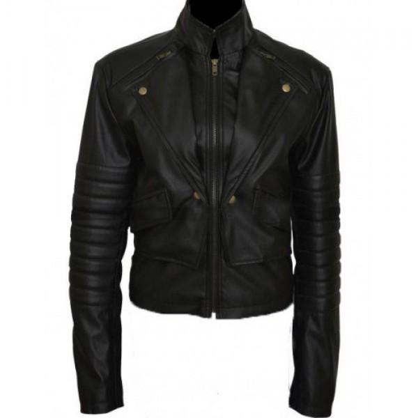 Shadowhunters Katherines Mcnamara Leather Jacket