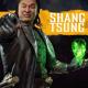 Shang Tsung Mortal Kombat 11 Black Leather Trench Coat