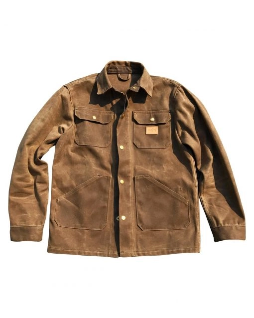 Ship John Wills Brown Suede Leather Jacket