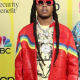 Takeoff Migos Culture 3 Red Leather Jacket