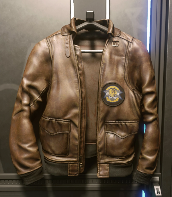 The Invictus Flight Brown Leather Jacket