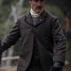 The Luminaries George Shepard Grey Wool Jacket
