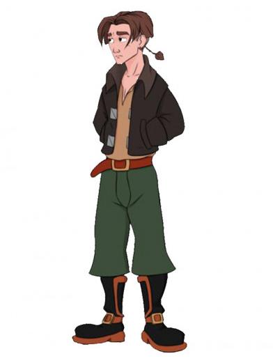 Treasure Planet Jim Hawkins Wool Jacket