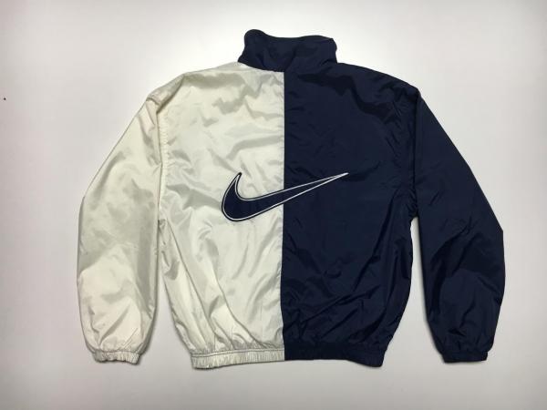 Visual Hunt Vintage Nike Windbreaker Satin Jacket