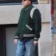 American Actor Jonah Hill Varsity Green Jacket