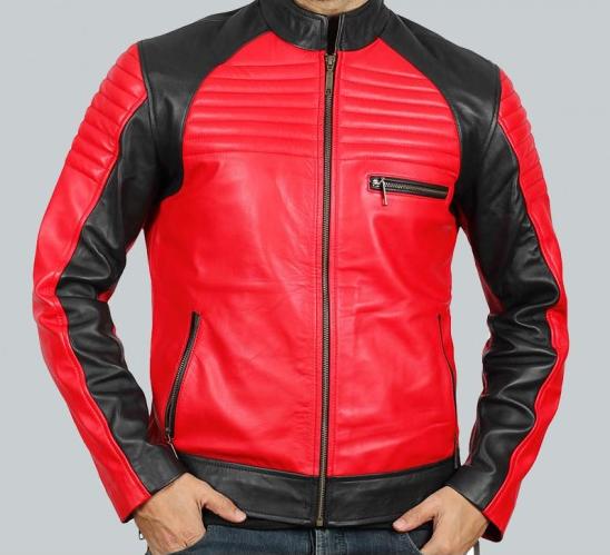 Andrew Vintage Biker Leather Jacket