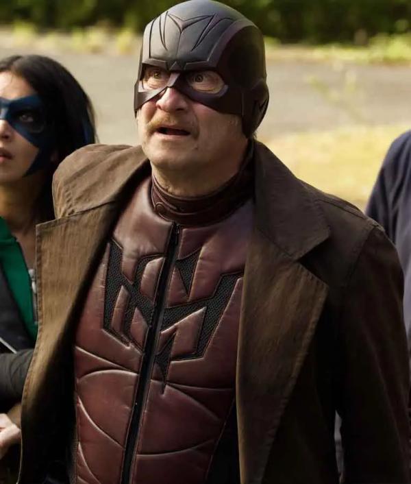 Benoît Poelvoorde How I Became A Super Hero Leather Coat