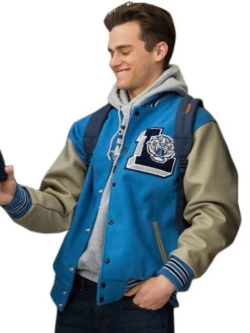 Brandon Flynn 13 Reasons Why Liberty High Varsity Jacket