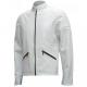 Cafe Racer White Leather Jacket
