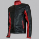 Christian Bale Biker Leather Jacket