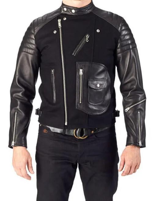 Classics Black Moto Leather Jacket