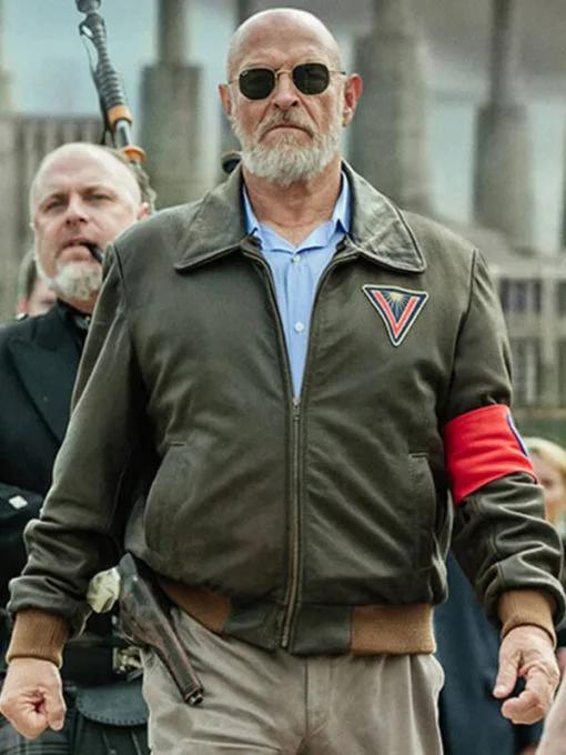 Corbin Bernsen American Gods Vulcan Leather Jacket