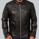 David Beckham Quilted Leather Jacket