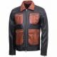 Guarda Vintage Biker Leather Jacket