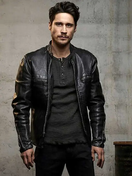 James Valdez Queen Of The South Leather Jacket