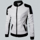 Joliet White Perforated Leather Jacket