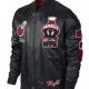 Jordan Marvin The Martian Bomber Leather Jacket