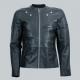 Karakoram Perfect Fit Black Leather Jacket