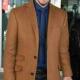 Keanu Reeves Movie Siberia Brown Wool Coat