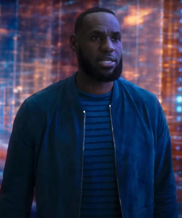 LeBron James Space Jam A New Legacy Velvet Jacket