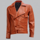 Leonardo Dicaprio Biker Leather Jacket
