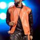 NYC Concert R. Kelly Orange Leather Jacket