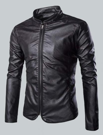 Nashville Classic Biker Leather Jacket