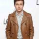 Nick Robinson Love Simon Spier Brown Leather Jacket