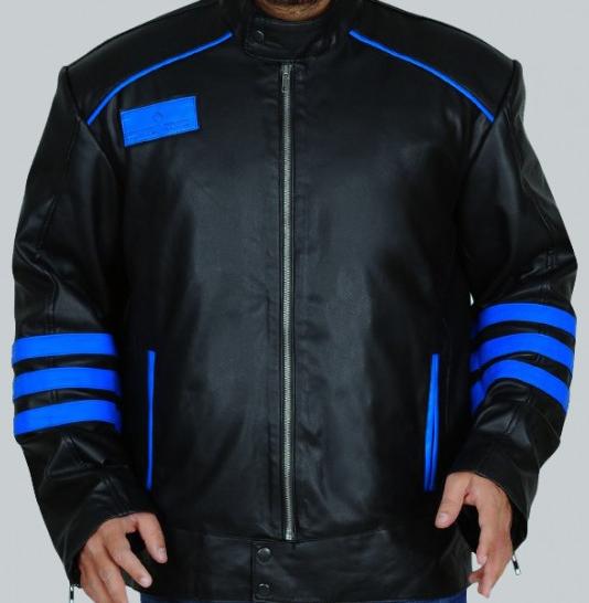 Power Rangers Rpm Black Leather Jacket
