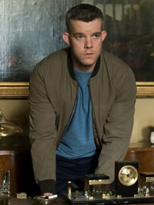 Russell Tovey The Good Liar Stephen Bomber Jacket