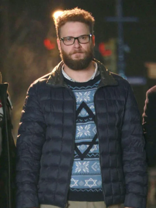 Seth Rogen The Night Before Isaac Parachute Jacket