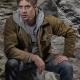 Shaun Sipos Kryptons Adam Strange Brown Jacket