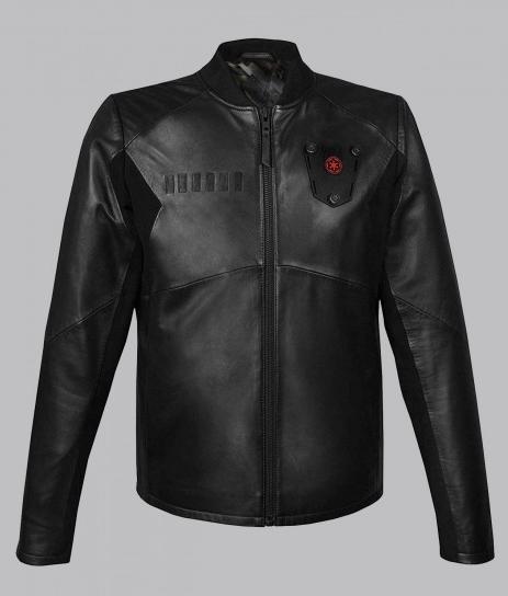 Star Wars Tie Fighter Pilot Leather Jacket