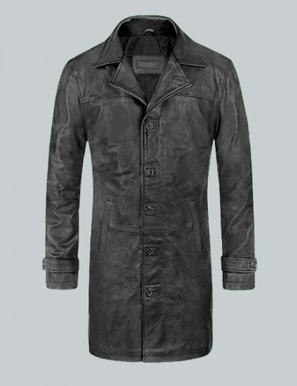 The Fate Of The Furious Jason Statham Leather Coat