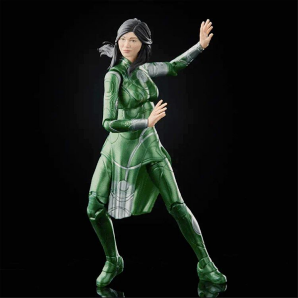 Ajak Eternals Green Costume Leather Jacket