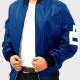 David Puddy Seinfeld 8 Ball Bombers Leather Jacket