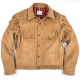 Freenote Cloth CD-3 Gold Suede Leather Jacket