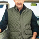 John Dutton TV Series Yellowstone Kevin Costner Military Quilted Vest