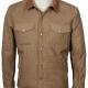 Josh Lucass Yellowstone John Dutton Quilted Cotton Jacket