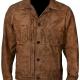 Luke Grimes Yellowstones Kayce Dutton Waxed Cotton Jacket
