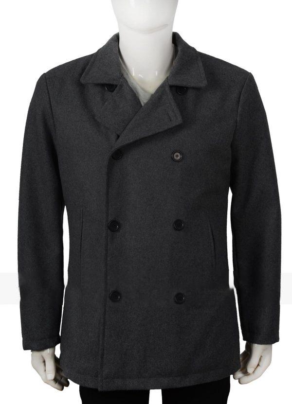Ryans Bingham Yellowstone Walker Wool Pea Coat
