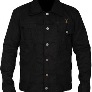 The Yellowstone Rip Wheeler Black Cotton Jacket