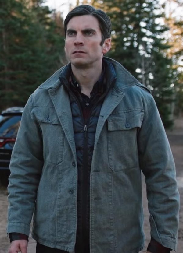 Wes Bentley Yellowstone Jamie Dutton Cotton Jacket