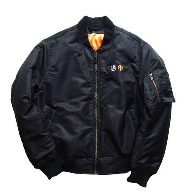 Richardson X Pornhub MA1 Bomber Satin Jacket